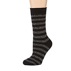 Heat Holders® Striped Thermal Crew Socks