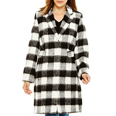 Liz Claiborne® Wool-Blend Walking Coat