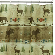 Bacova Echo Trail Shower Curtain