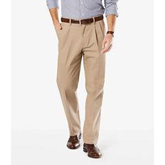 Dockers® Signature Stretch Pleated Pants- Big & Tall