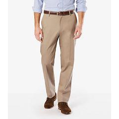 Dockers® Signature Stretch Flat Front Pants-Big & Tall