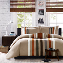 Mi Zone Landon Striped Comforter Set