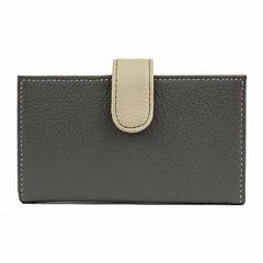 Mundi Rio Leather Double Card Case Wallet