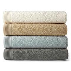 Royal Velvet® Verona Sculpted Bath Towel Collection