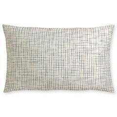 Royal Velvet® Ivory Print Oblong Decorative Pillow