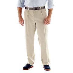 Lee® Stain Resist Pleated Pants–Big & Tall