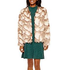 Decree® Faux-Fur Jacket or Skater Dress