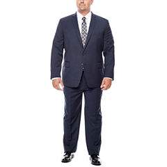 Claiborne® Blue Neat Suit Separates - Big & Tall