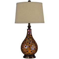 Dale Tiffany™ Amber Mosaic Table Lamp