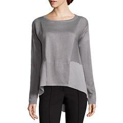 Nicole By Nicole Miller Stud Sweater