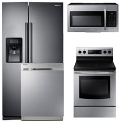 Samsung 4-pc. Electric Kitchen Package