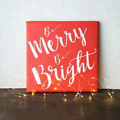 Cathy's Concepts Merry & Bright Gallery Wrapped Canvas