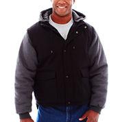 Tough Duck™ Work Jacket w/Zip-Off Sleeves–Big & Tall