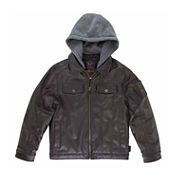 Boys Midweight Bomber Jacket - Big Kid