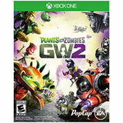 Plants Vs Zombies 2 Video Game-XBox One