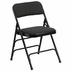 Fabric Metal Folding Chair