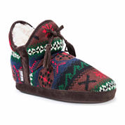 Muk Luks Knit Bootie Slippers