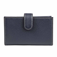 Mundi Rio Leather Double Card Case Wallet