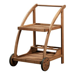 Catalan Trolley Patio Serving Cart
