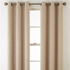 Home Expressions Norris 2-Pack Grommet-Top Curtain Panel