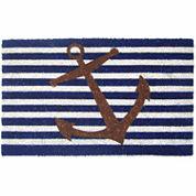 Nautical Anchor Rectangle Doormat