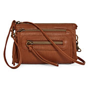 Arizona Triple Zip Crossbody Bag