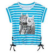 Total Girl Girls Short Sleeve T-Shirt-Big Kid