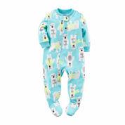 Carter's Boys Long Sleeve One Piece Pajama-Baby