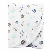 Carter's Puppy Paw Blanket