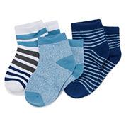 3-pk. Climate Smart Socks- Toddler Boys