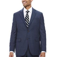 Stafford Classic Fit Plaid Suit Jacket