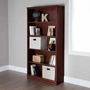 South Shore Morgan 5-Shelf Bookshelf