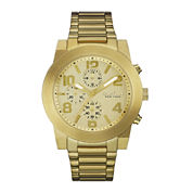 Caravelle New York® Mens Gold-Tone Stainless Steel Sport Watch 44A105