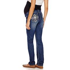 Love Indigo Skinny Jeans-Maternity