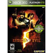 Resident Evil 5 Video Game-XBox 360