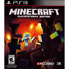 Minecraft Video Game-Playstation 3