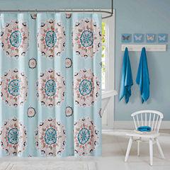 INK+IVY Hana  Shower Curtain
