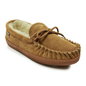 Lamo Moccasin Suede Slippers