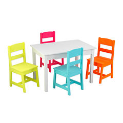KidKraft® Highlighter Table and 4 Chairs Set