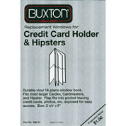 Buxton Window Book Credit Card Holder