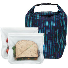 BlueAvocado® Click 'n Go with ReZip™ Seal Lunch2-Pack