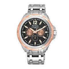 Armitron® All-Sport® Mens Stainless Steel Watch 20/5095BKRG