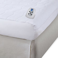 Serta® Microplush Electric Warming Mattress Pad