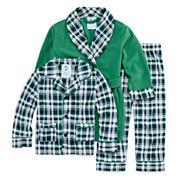 Bunz Kidz Boys Long Sleeve Pant Pajama Set-Toddler
