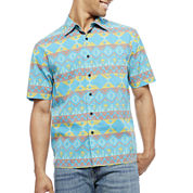 Arizona Short-Sleeve Button-Front Shirt