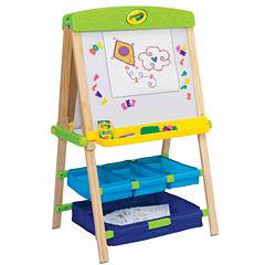 Grow'N Up Crayola Draw'N Store Wood Kids Easel