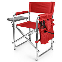 Picnic Time® Folding Sports Chair + Side Table