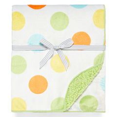 Carter's® Polka Dot Sherpa Blanket - One Size