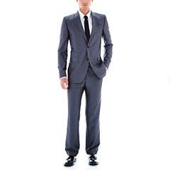 JF J. Ferrar® Gray Luster Herringbone Suit Separates - Slim Fit