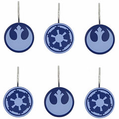 Star Wars™ Classic Shower Curtain Hooks